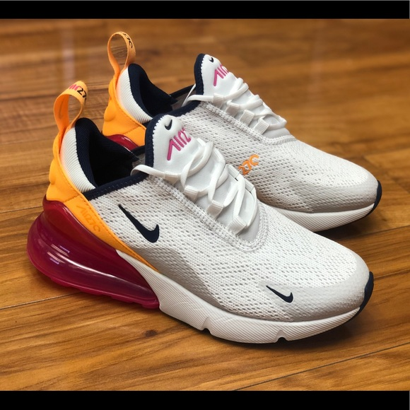 Nike Shoes Air Max 270 Womens Sorbet White Orange Pink Poshmark